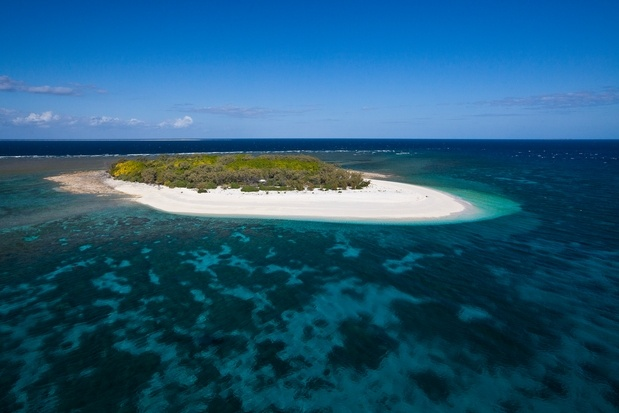 """Wilson Island, Gladstone, Queensland, Australia - Try """"glamping"""" in one of the luxury tents on Wilson Island."""