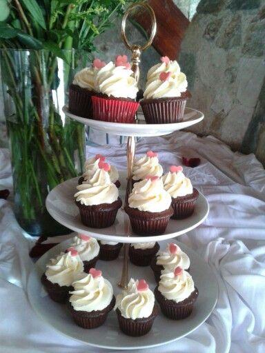 Cupcakes Corazón