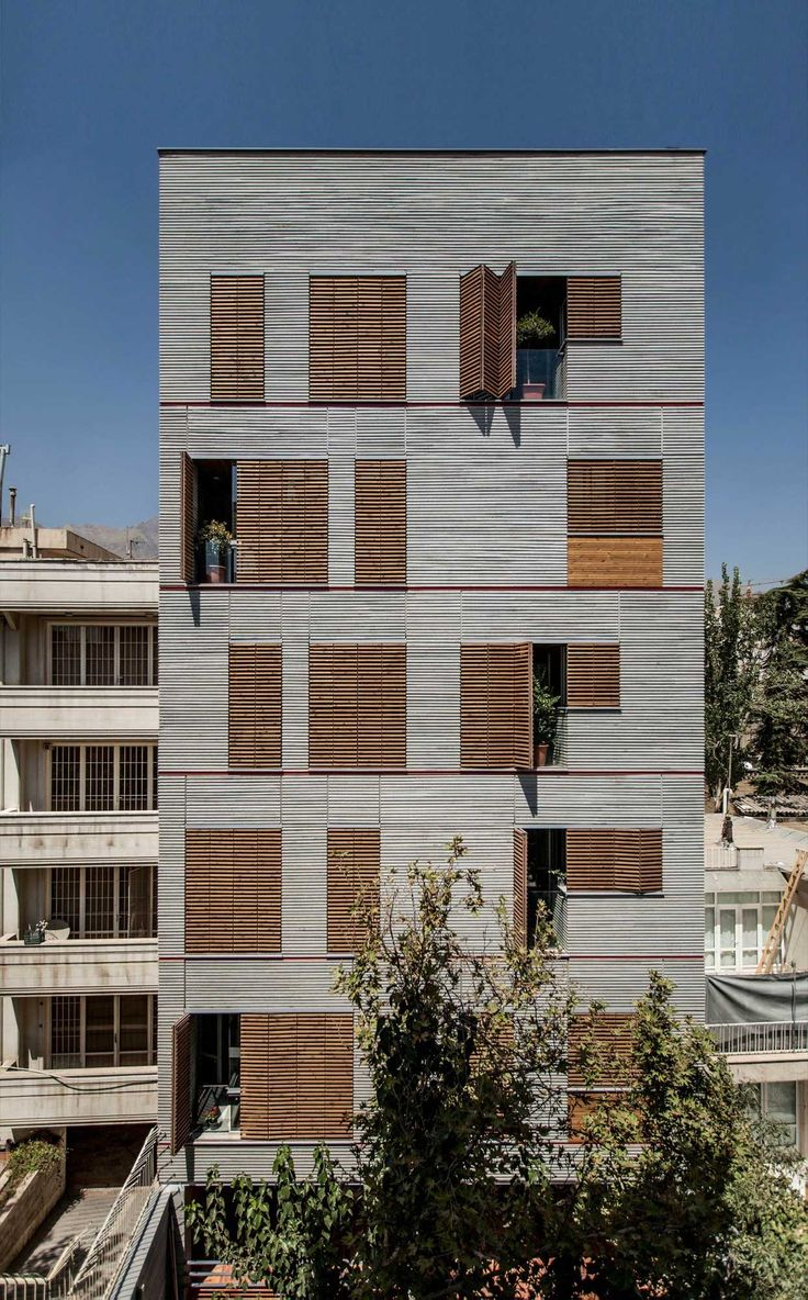 Andarzgoo Residential Building by Ayeneh Office | Yellowtrace