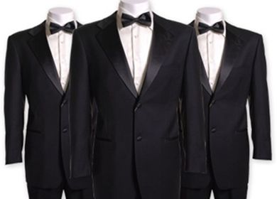 the rest for the Groom without the black tie ... better cream