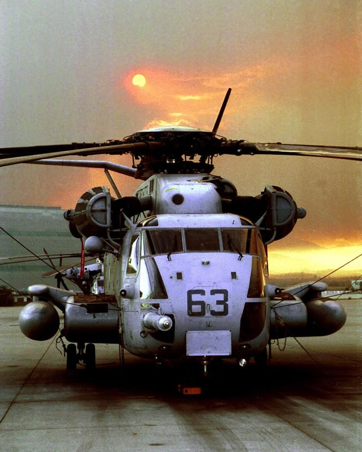 The heavy-lift helicopter of the Marine Corps (CH-53E Super Stallion) can carry a 26,000-pound Light Armored Vehicle, 16 tons of cargo 50 miles and back, or enough combat-loaded Marines to lead an assault or humanitarian operation.