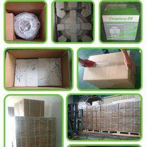 garbage disposal unit packing and loading