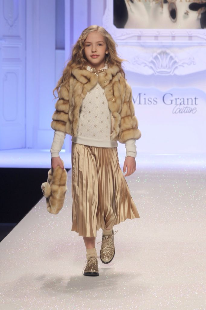 The GOLD Outfit for Christmas by Miss Grant Couture