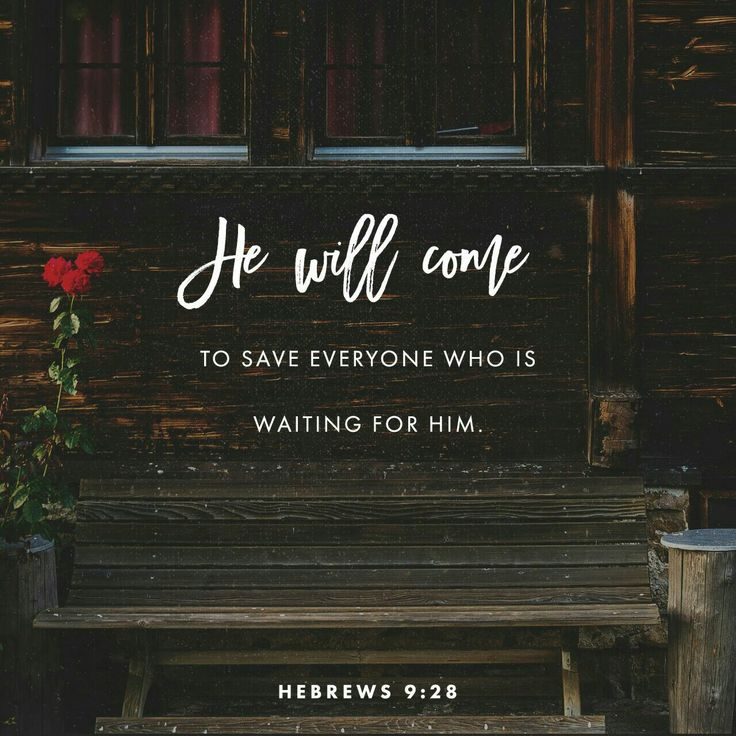 Everyone has to die once, then face the consequences. Christ's death was also a one-time event, but it was a sacrifice that took care of sins forever. And so, when he next appears, the outcome for those eager to greet him is, precisely, salvation . Hebrews 9 MSG http://bible.com/97/heb.9.28.MSG