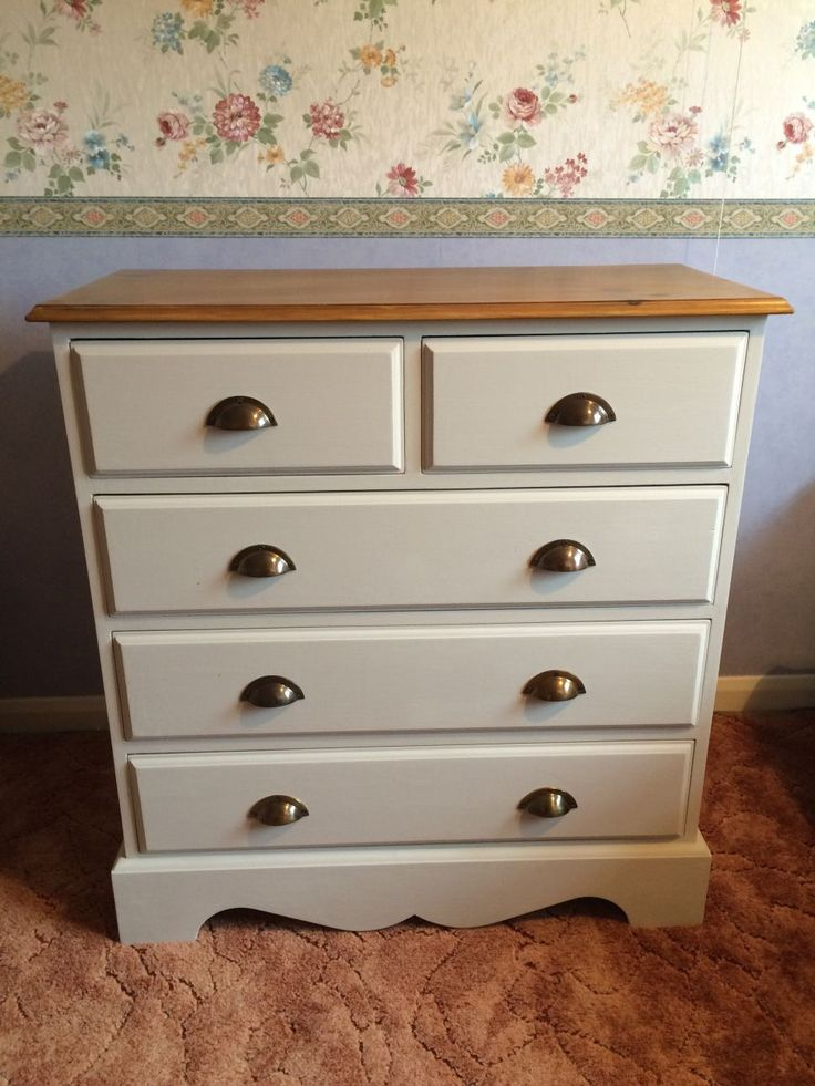 See How I Transformed An Outdated Pine Chest Of Drawers By