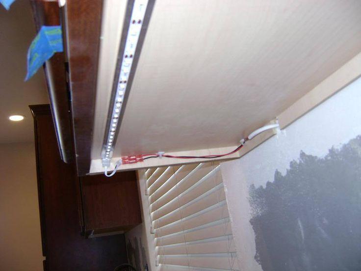 Led Tape Daisy Chain Strips Light Install Undercabinet Lighting Light Fixture Undercabinet