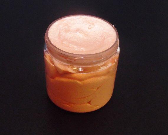 Exfoliating Body Wash, Mango and Papaya, Natural Body Scrub, Best Body Scrub, Body Sugar Scrub, Cream Soap, Moisturizing Body Wash