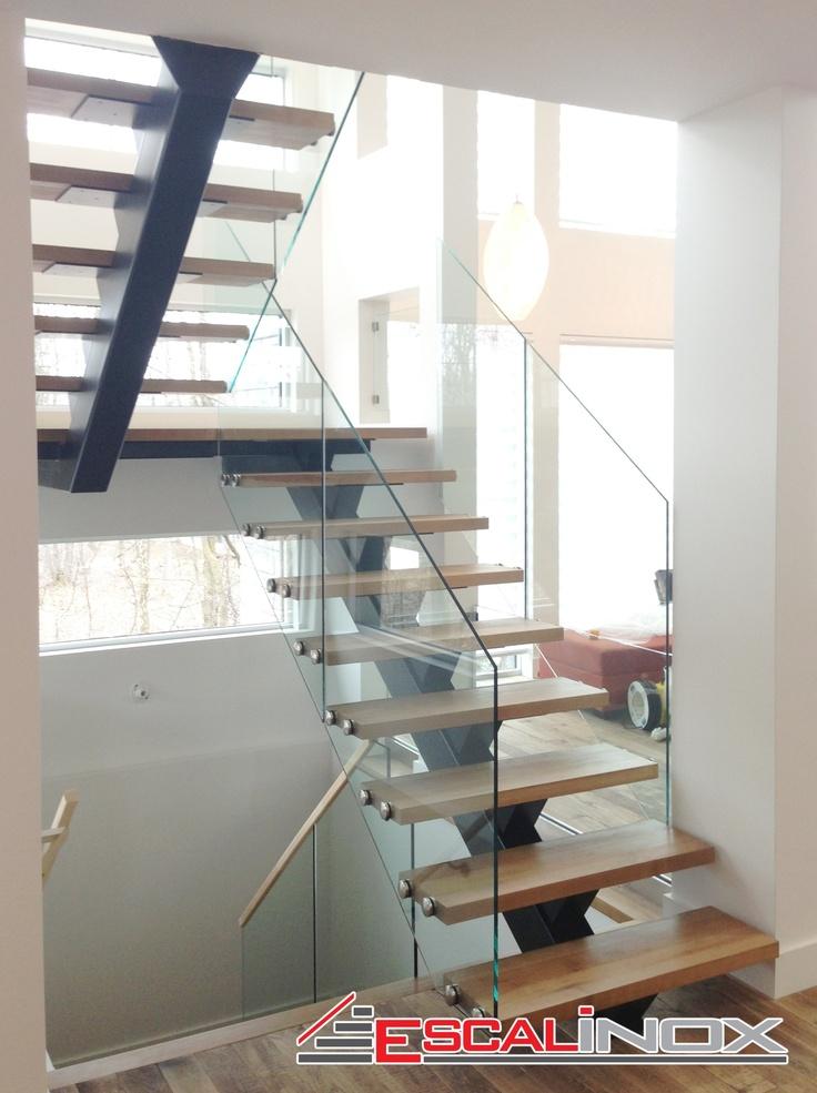 78 mejores ideas sobre garde corps en verre en pinterest. Black Bedroom Furniture Sets. Home Design Ideas