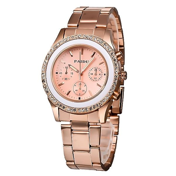 Charming,fashionable and vintage watch it is sure to be one of the most appreciated gifts one can give, receive or self treat. Excellent quality at a reasonable price. It is definitely a nice item for yourself or as a gift.