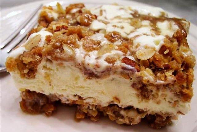 Φτιάξτε τραγανό μπισκότο με παγωτό και καραμέλα!