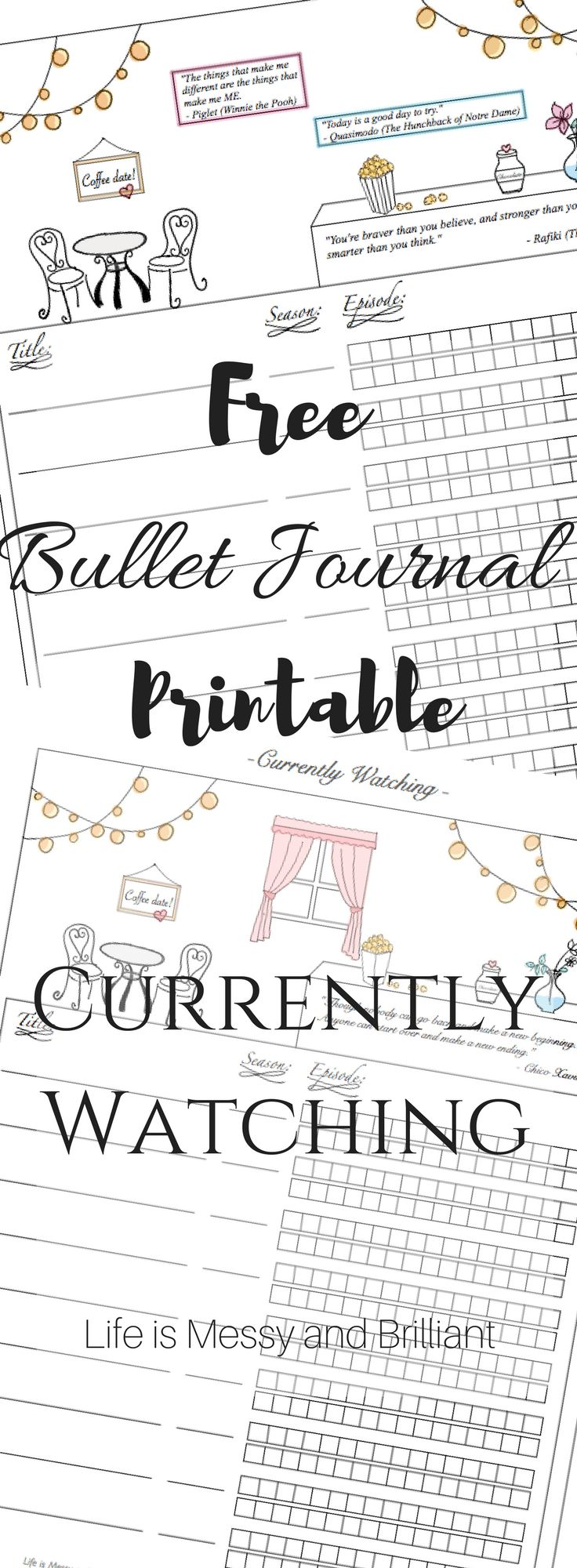 Free bullet journal printables, free printable, bullet journal, free lettering printable, bullet journal mood tracker, bullet journal layout, bullet journal setup, bullet journal weekly, bullet journal inspiration, bullet journal ideas, bullet journal printables, bullet journal monthly, how to create bullet journal, how to bullet journal, digital bullet journal, iPad bullet journal, bullet journal tutorial, art journaling, ipad lettering, currently watching printable, movies tracker