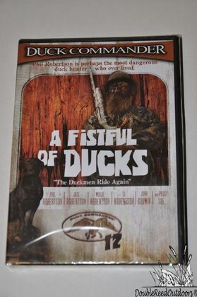 Duck Commander Calls DUCKMEN 12 DVD - A FISTFUL OF DUCKS