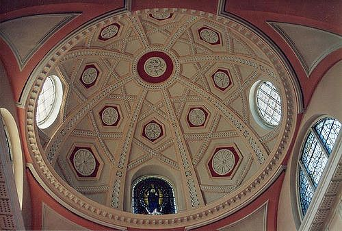 https://flic.kr/p/8Hh8 | Sacred Heart dome | 1996 Galway - Sacred Heart Church - dome - Pentax PZ-1 with Pentax FA 28-80 lens