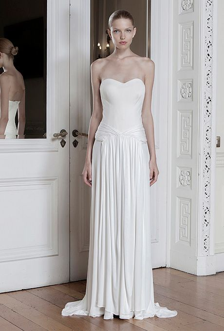 Brides.com: Sophia Kokosalaki - Spring/Summer 2014. Wedding dress by Sophia Kokosalaki