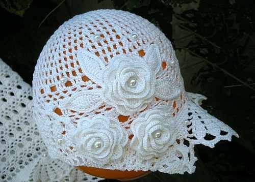 Vestido a crochet para bautizo - Imagui