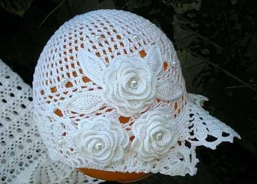 Vestido A Crochet Para Bautizo Imagui Tejido Crochet