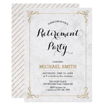 The  Best Retirement Invitation Template Ideas On
