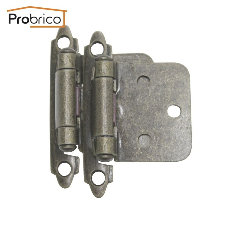44.99$  Buy here - http://alimog.shopchina.info/go.php?t=32412576595 - Probrico 20 Pair Self Close Antique Bronze Kitchen Cabinet Hinges CH197AB Cupboard Door Hinge Furniture Hardware 44.99$ #aliexpresschina