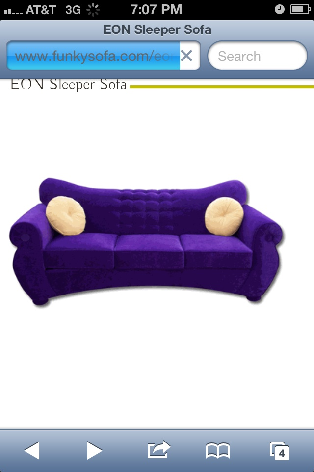 Awesome Couch I Found On Http://www.funkysofa.com/eonsleepersofa