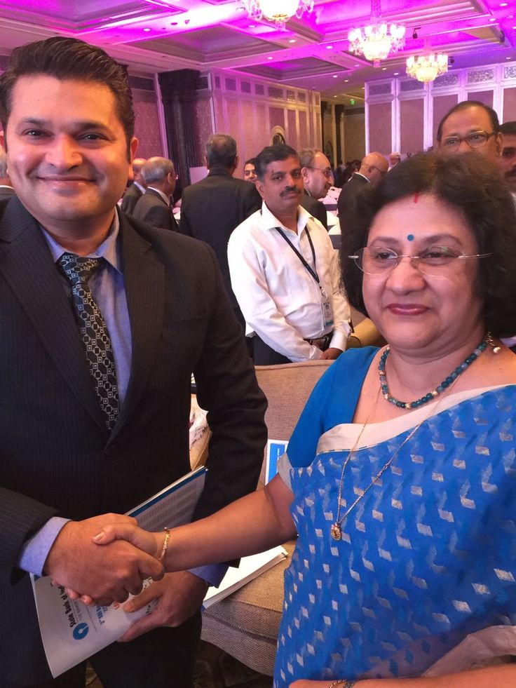 "Pleasure to meet SBI chairperson Arundhati Bhattacharya  - ""The Superwoman of Indian Banking"" #DipeshSheth #Dipesh #ShethDipesh #Finmancaps #FCS #SBI #StateBankOfIndia #ArundhatiBhattacharya Arundhati Bhattacharya #Chairperson"