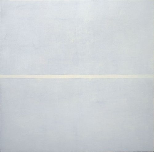 Agnes Martin Untitled No. 3 Acrylic and graphite on linen 1998