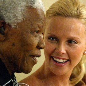 Charlize's tearful message to Madiba's family | Channel24