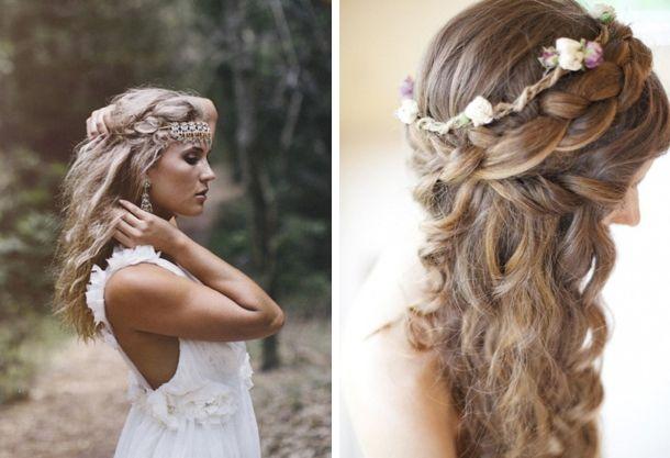 Hair Inspiration: The Boho Bride