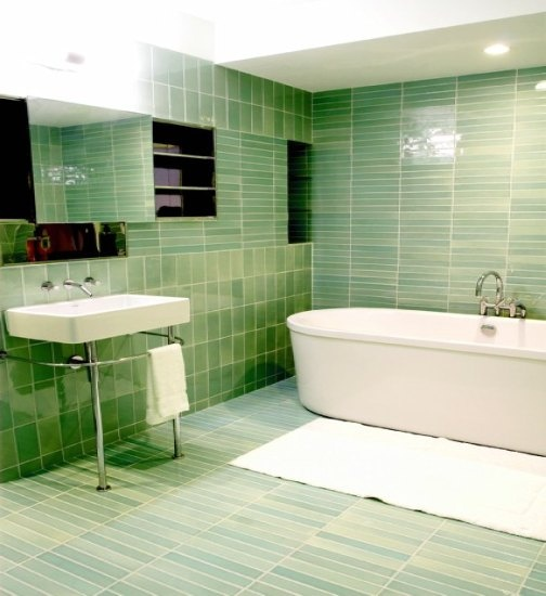 Grüne Badezimmer Fliesen: Best 25+ Green Bathroom Tiles Ideas On Pinterest