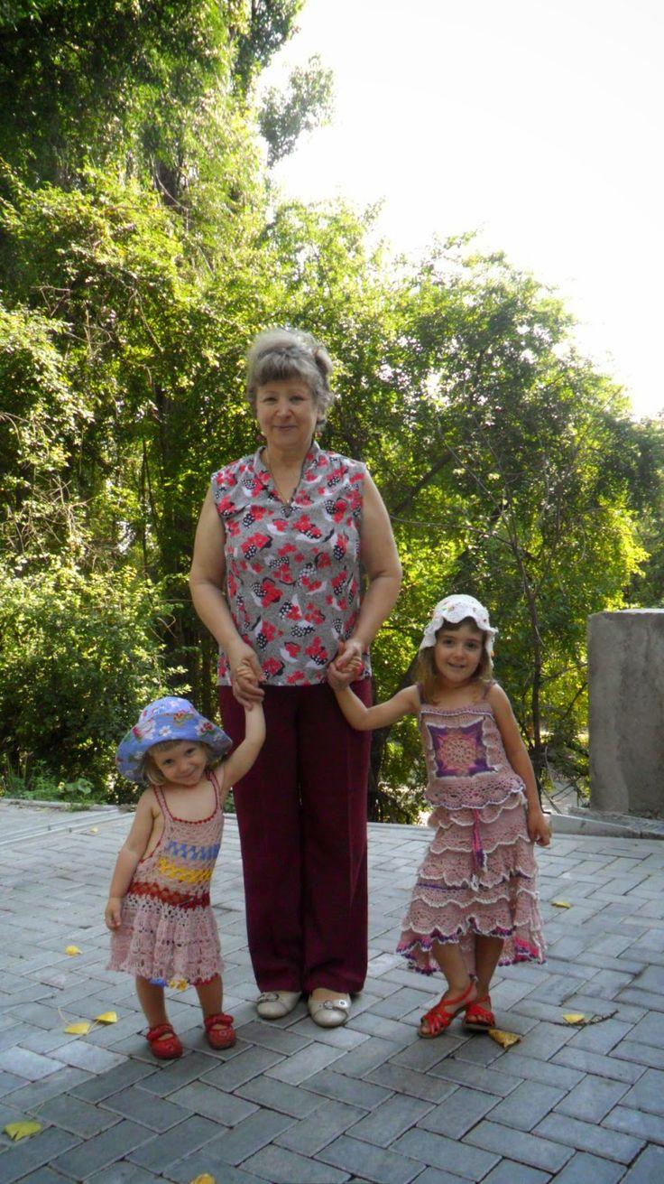 Bine ati venit pe blogul nostru. Va uram lectura placuta!: Croșetăm hăinuțe frumoase de vară pentru nepoțele:...