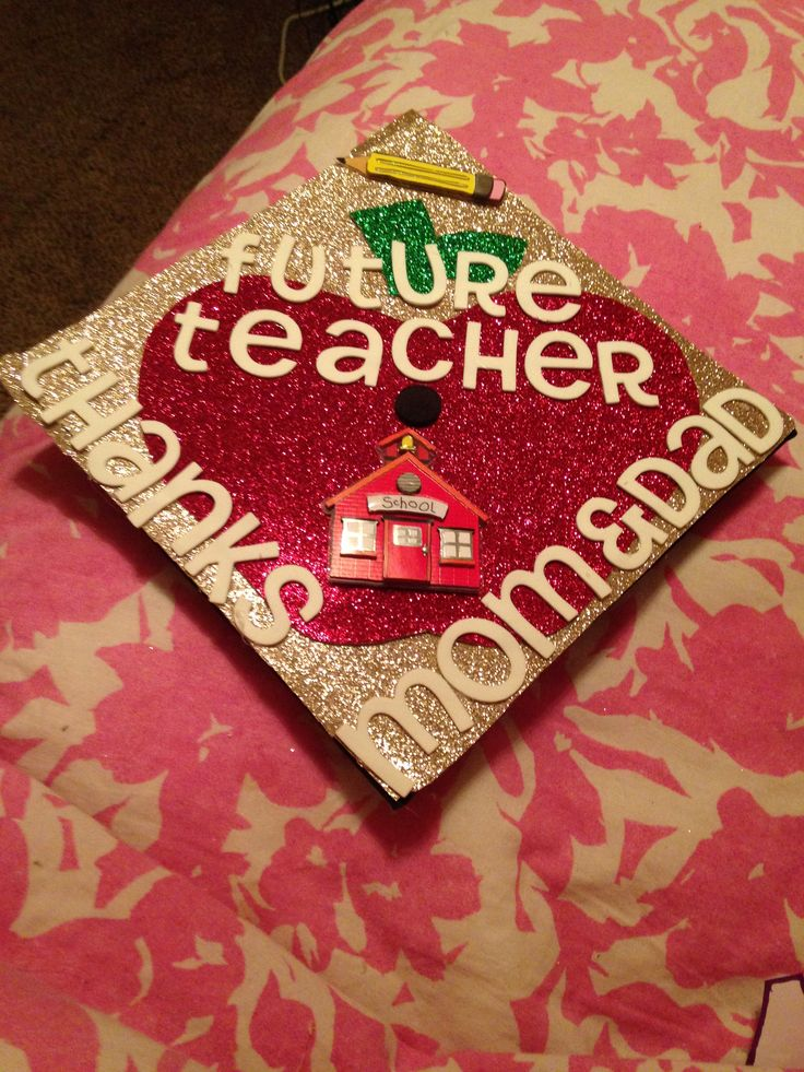 Graduation cap design for teachers ...