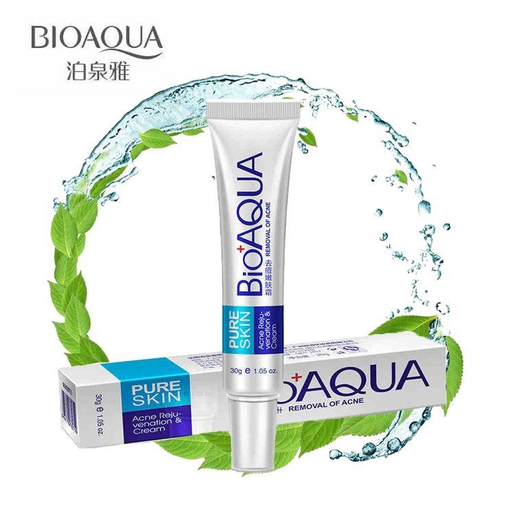 Bioaqua 30g Anti Acne Cream / Oil Control / Shrink Pores/ Acne Scar Remove/ Face Care