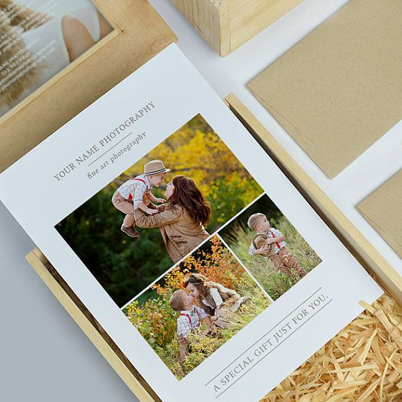 Photography Gift Card Template Photography by hazyskiesdesigns
