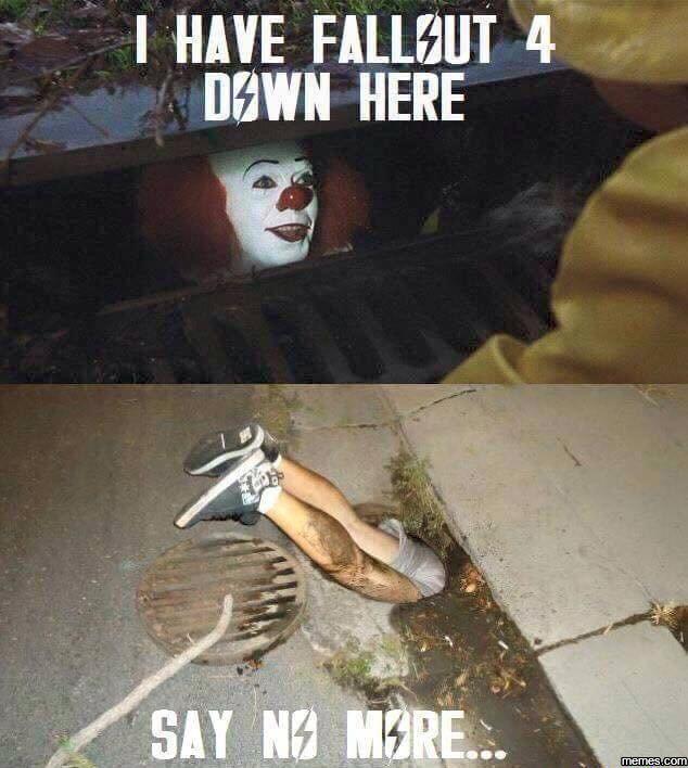 I have fallout 4 | Memes.com