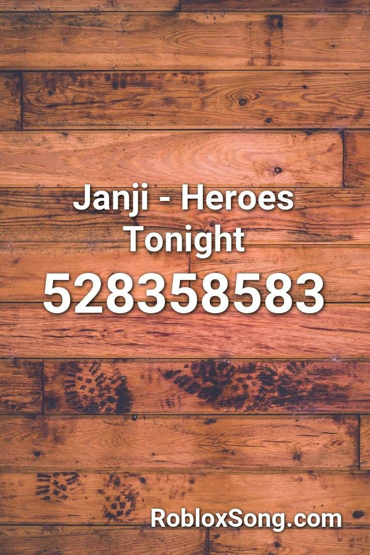 Janji Heroes Tonight Roblox Id Roblox Music Codes In 2020
