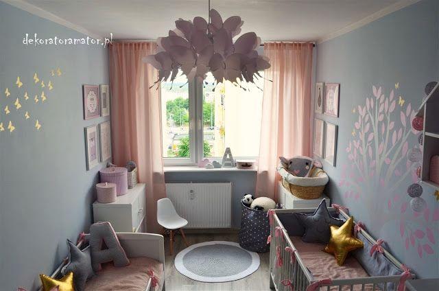dekorator amator: Dekorator (amator) pomaga - pokój dziewczęcy ze zł...