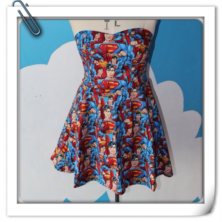 Superman dress!