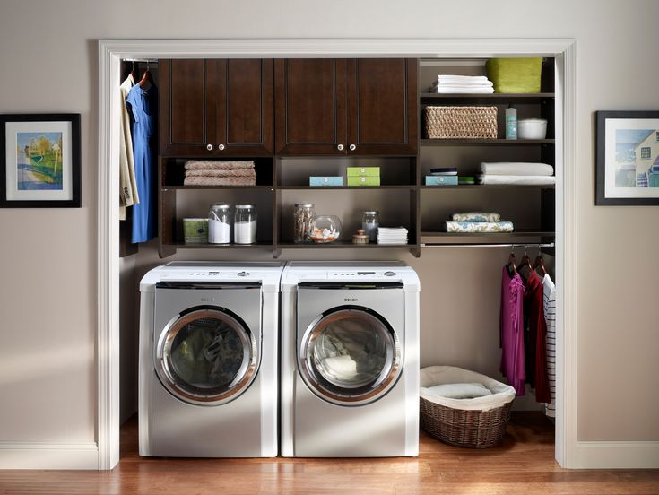 No Laundry Room No Worries Create Your Own Laundry Space With Mastersuite From