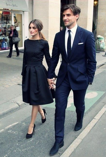 Olivia Palermo couples fashion. YES.