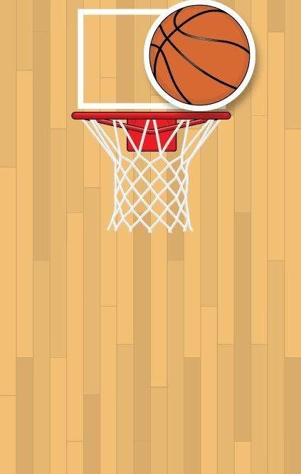 basketball blank invitation templates