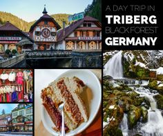 Today Adriana takes us on a day trip through Triberg, in #Germany's Black Forest, featuring giant waterfalls, cakes, and cuckoo clocks. #europe #travel