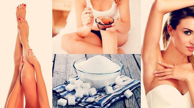Depilação com açúcar é solução caseira (e muito fácil) para eliminar pelos; aprenda