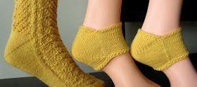 Yarn on Tap: Top Down Fleegle Heel