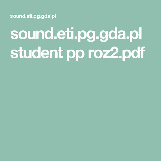 sound.eti.pg.gda.pl student pp roz2.pdf
