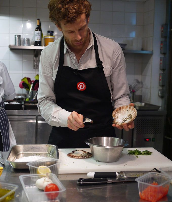 "Pinterest UK Masterclass with Tom Aikens (or, ""My night with Tom Aikens"" as I like to refer to it)."