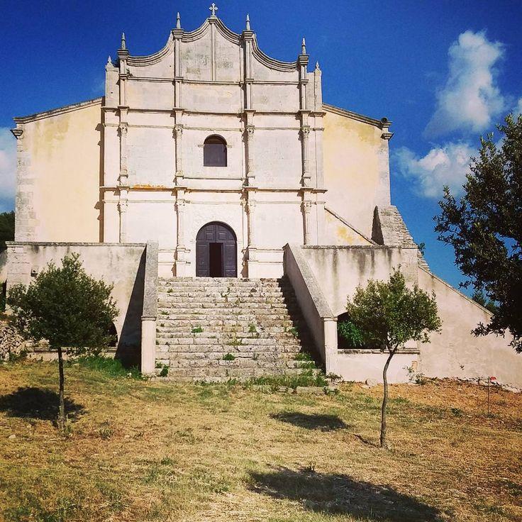 Santuari nella campagna della #Sardegna