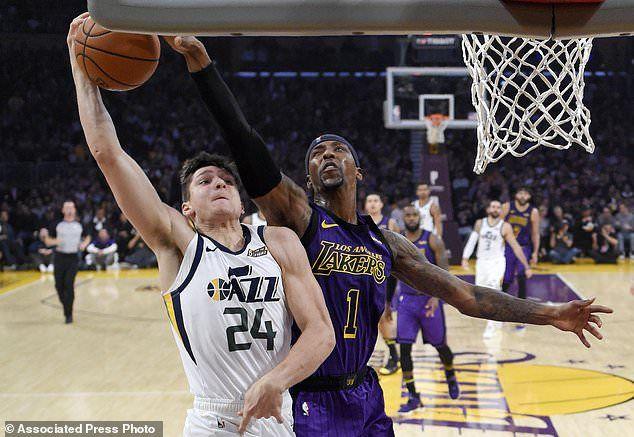 Julius Randle Los Angeles Lakers Kobe Bryant Los Angeles Clippers