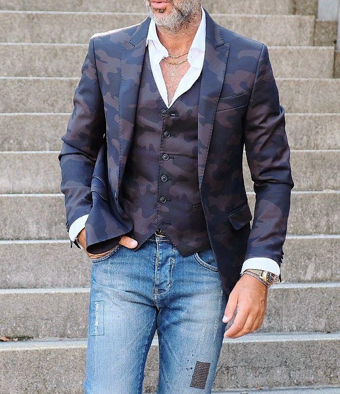 いいね!790件、コメント3件 ― Mens Fashionさん(@andrea_pratolongo)のInstagramアカウント: 「Monday in Camo Brand Item ブランドアイテム Jacket @hamaki_ho_official Vest @hamaki_ho_official Shirt…」