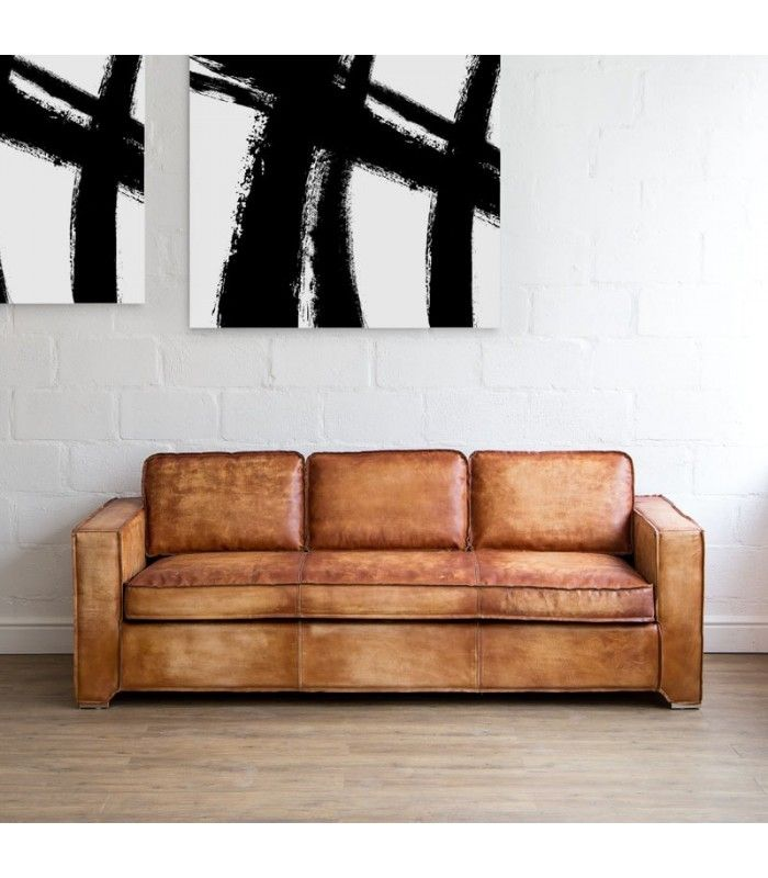 Radley Vintage Leather Couch Leather Couches Leather Couch Couches Living Vintage Leather Sofa