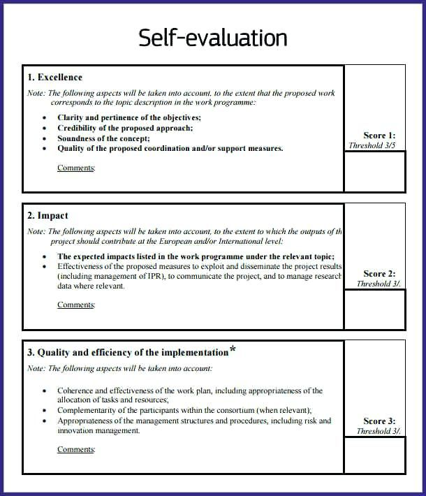 Self Appraisal Sample Examples Evaluation Example Print Although Comments For Performance Employee Self Evaluation Employee Evaluation Employee Self Assessment