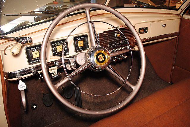 1949 DODGE WAYFARER ROADSTER - Ramshead Automobile Collection | car interiors | Pinterest ...